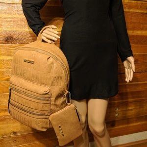 🐫Steve Madden Saddle Backpack and Clutch🐫 NWT